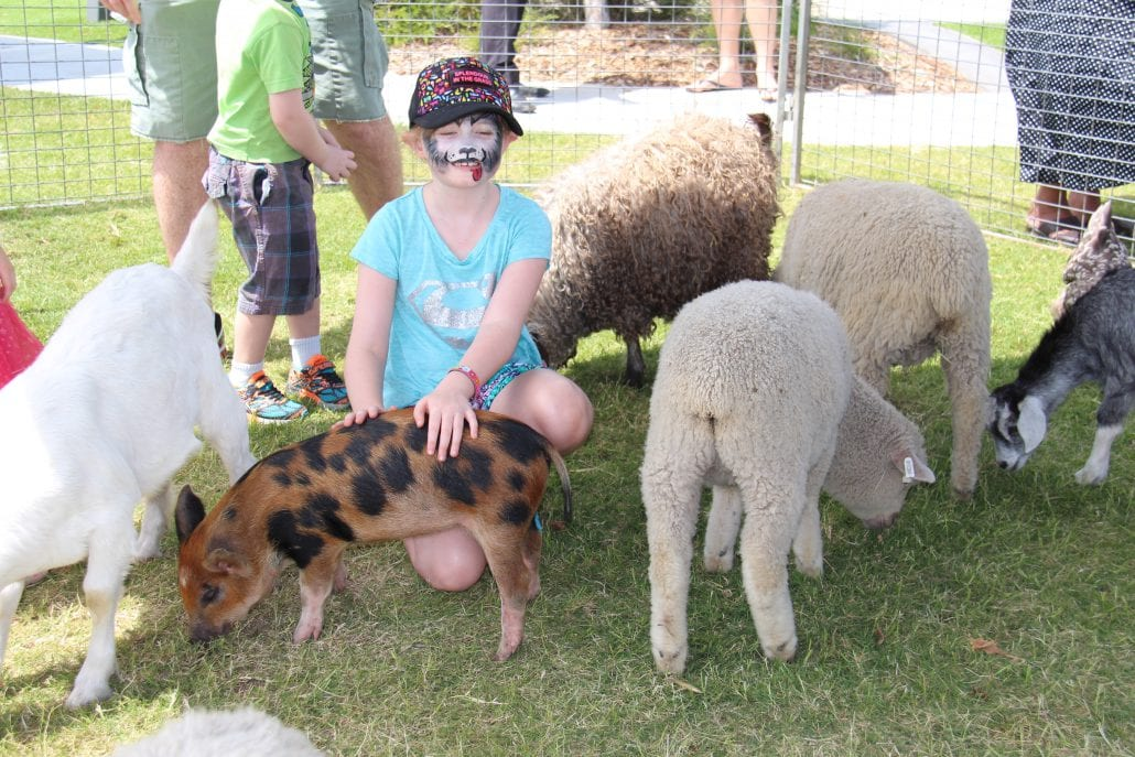 North Harbour - Australia Zoo Easter Egg Hunt Free Face Painting
