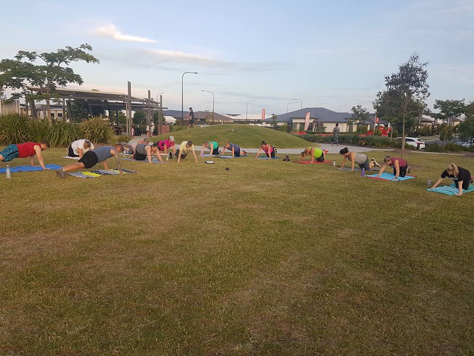 North Harbour Boot Camp - Push Ups