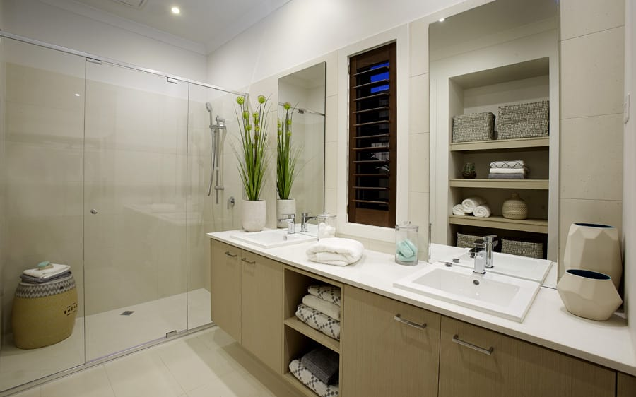 Metricon Homes at North Harbour - Bathroom