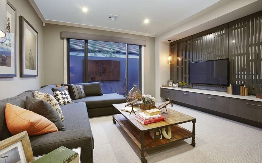 Metricon Homes at North Harbour - Living Room