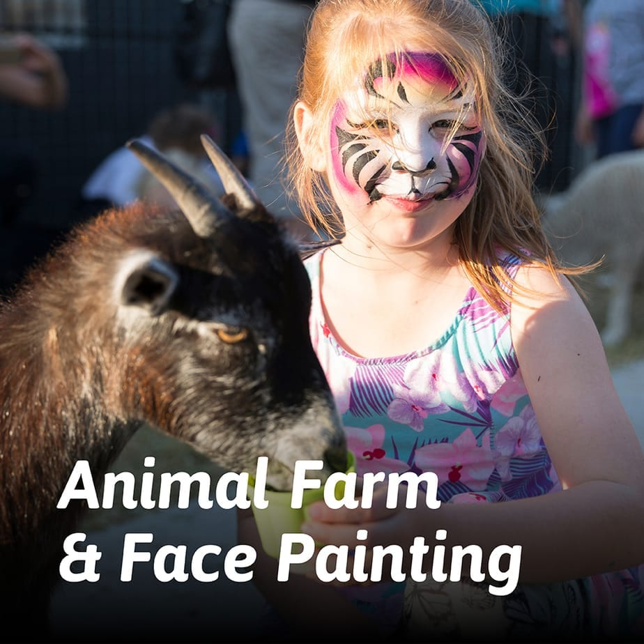North Harbour | Grand Opening | Animal Farm and Face Painting