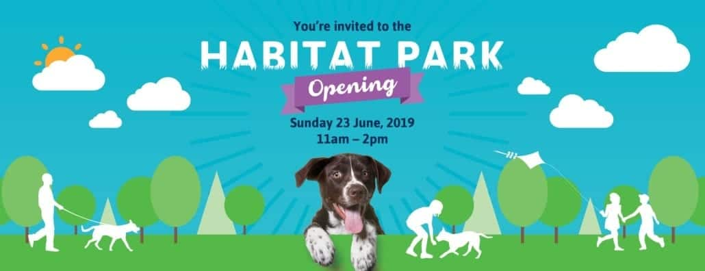 Habitat Park Opening