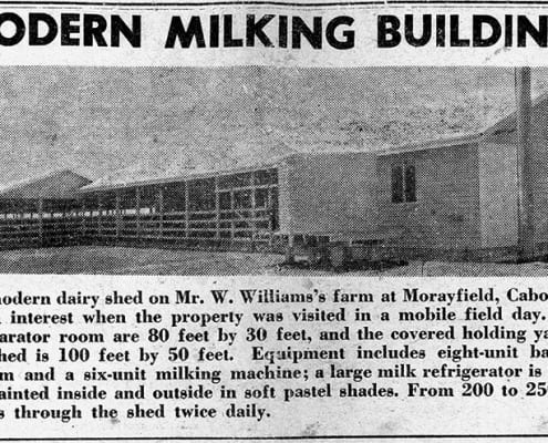 Modern Milking Buildings News Clipping