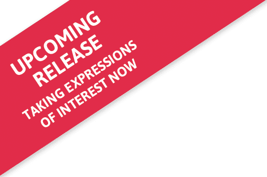 Upcoming Release - Taking Expressions of Interest Now